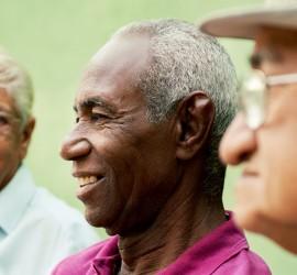 Three senior men