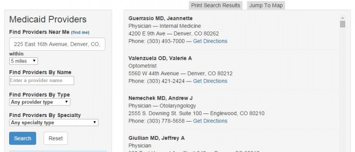 How To Find a Health First Colorado Doctor | colorado gov/health