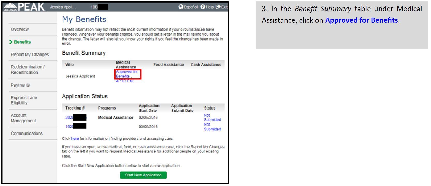 image regarding Printable Medicaid Application identify cardslide3 colorado.gov/fitness