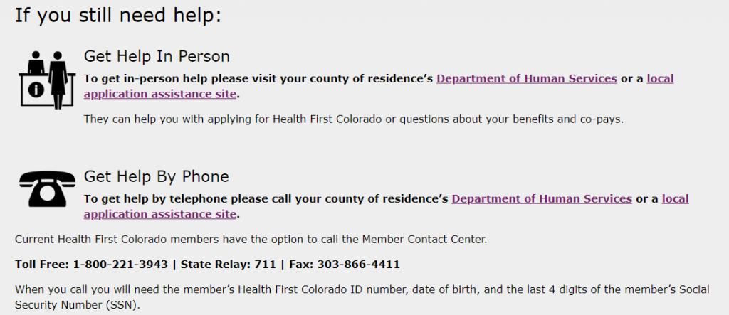 Print Medicaid Card - colorado.gov/health